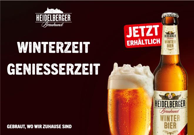 Heidelberger Winter Bier  –  Jetzt erhältlich